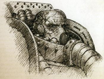 Maloghurst el Retorcido Boceto