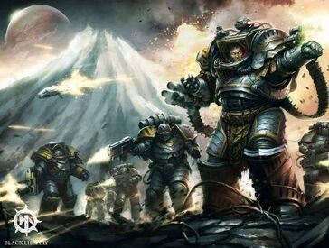 Primarca perturabo guerreros hierro
