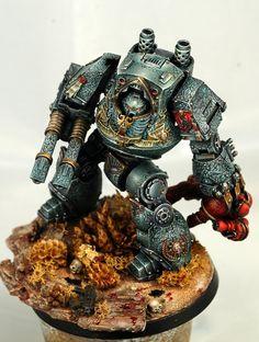 Dreadnought contemptor lobos espaciales herejíad e horus prospero wikihammer