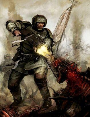 GI veterano vs tiranido