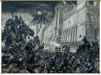 Hermanas de Batalla Ordo Hereticus Eclesiarquía en combate