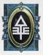 Simbolo eldar runa baharroth