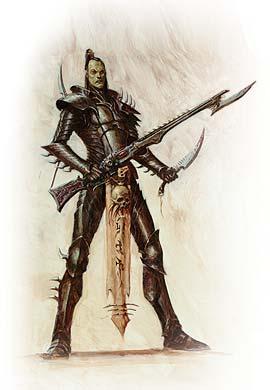 Bitz antiguo cadenas espada de la eldar