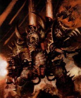 Hellbrute Bruto Infernal Warhammer 40k Caos wikihammer 6ª edición