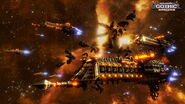 Poster Battlefleet Gothic Armada Videojuego