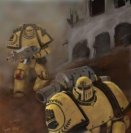Puños Imperiales pre-herejía