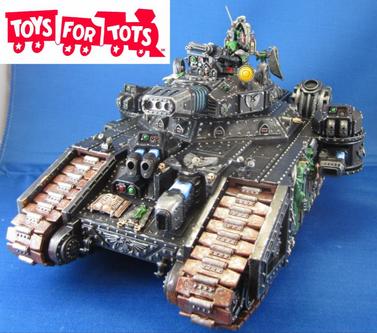 Tanque Stormblade variante Legión Ángeles Oscuros