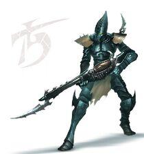Eldar oscuro guerrero cabala sello roto