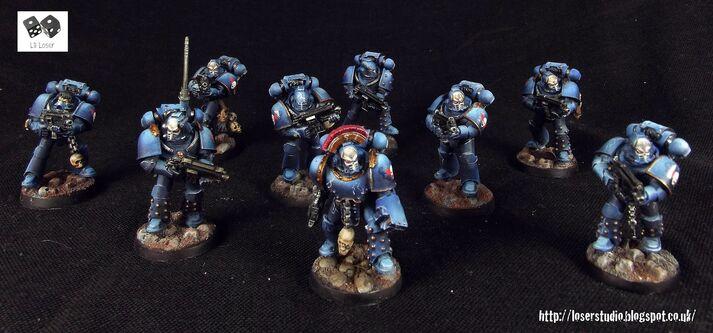 Escuadra Táctica Sargento Puño Amos de la Noche Maximus