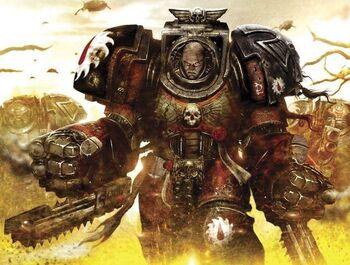 Exterminador Desgarradores Carne Puño Sierra Sangrientos Warhammer 40k Wikihammer