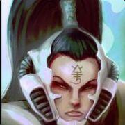 Rostro Autarca mujer Eldar (Elarique Espada Rápida)