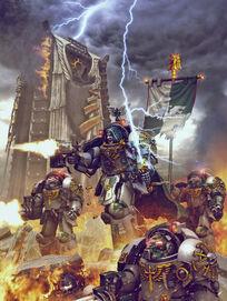 Ángeles Oscuros Exterminadores Ala Muerte Warhammer 40k Wikihammer
