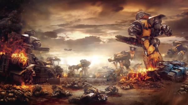 Batalla Guerreros de Hierro Legio Gryphonnicus contra Legión Alfa Legio Fureans