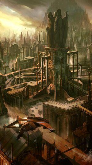 Cuidad Imperial 40k Imperio Ciudad Colmena