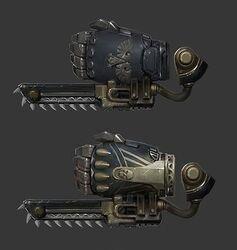 Arma puño sierra