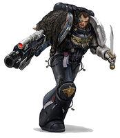 Lobo Espacial de los Guardianes de la Muerte