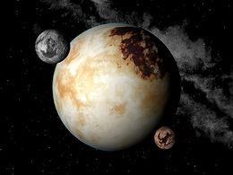 Planeta desierto lunas