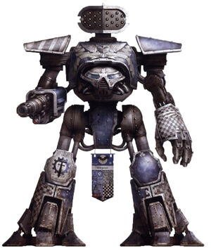 Titán Reaver de la Legio Tempestor