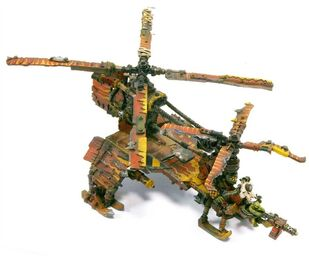 Miniatura Kóptero de Guerra Chinork