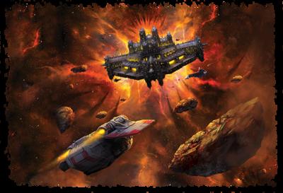 Flota fortaleza espacial lanzadera