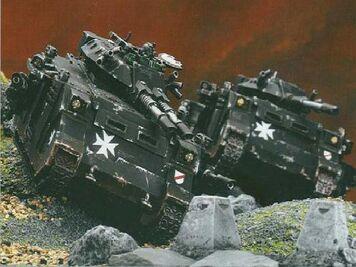 Tankes predadores