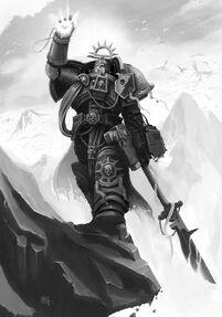 Marine caballero gris Archeus