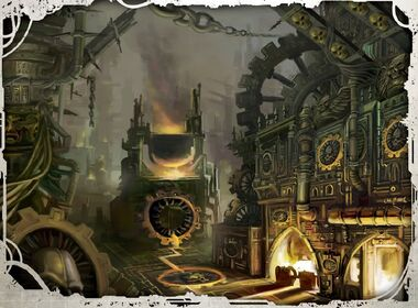 Mundo Forja Adeptus Mechanicum Warhammer 40k Wikihammer