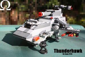 Thunderhawk lego sepe