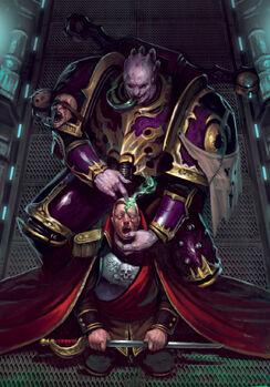 Caos corrupcion comandante imperial slaanesh