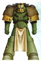 Guerreros Mantis Sargento Veterano Audamus Servoarmadura Mark IV Maximus Tactico Marines Espaciales Astartes Wikihammer
