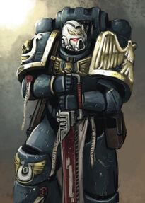 Sargento de los Ultramarines (fanart)