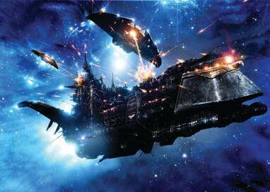 Flota nave imperial vs tau