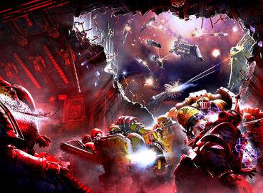 Marines puños imperiales asalto espacial sombras traicion