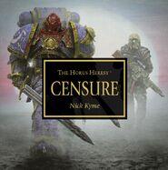 Portada Censure Audiolibro Herejía Horus