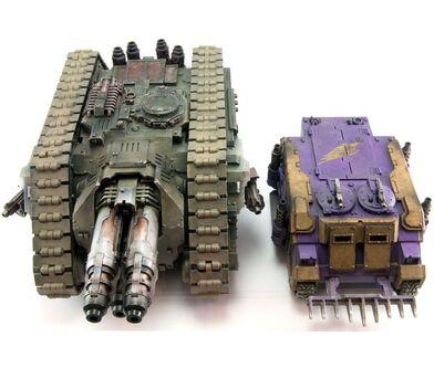 Tanque pesado cerberus comparativa rhino