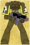 Águilas Oscuras Marine Táctico Wikihammer