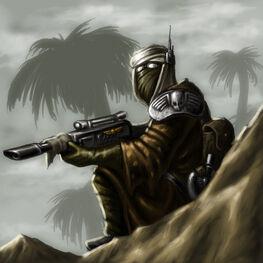 GI Francotirador de Tallarn