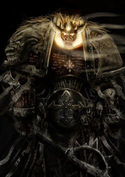 Principe demonio Lorgar Wikihammer 40k