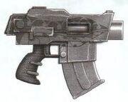 Umbra-Magnus Bolt pistol - Carcharadons