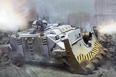 Vehiculo Vindicator Lobos espaciales