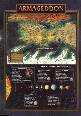 Mapa armageddon warhammer 40k