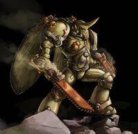 Marine de Plaga Nurgle asalto Caos Warhammer 40k Wikihammer