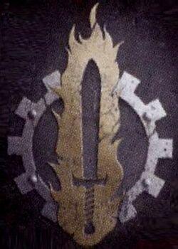 Emblema Legio Atarus Marcas de Fuego