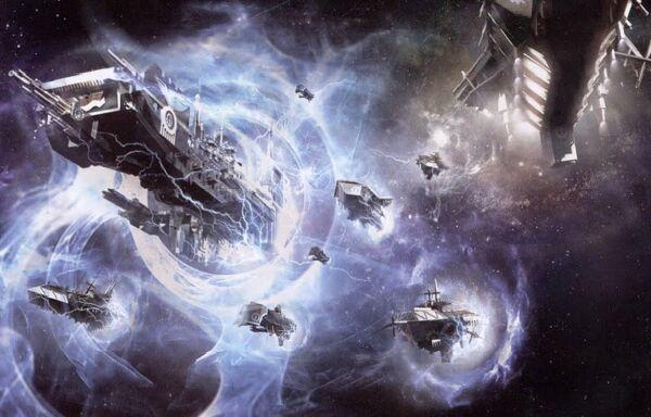 Entrada naves Manos de Hierro en Sistema Istvaan