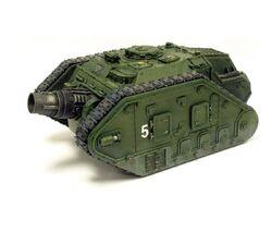 GI tanque de asedio thunderer