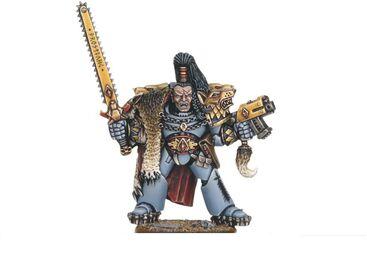 Ragnar Blackmane lobo espacial