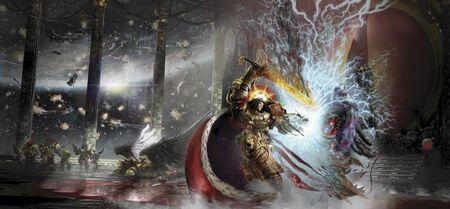 Emperador vs Horus Renovado Wikihammer 40k