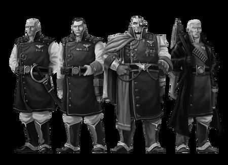 Flota imperial oficiales