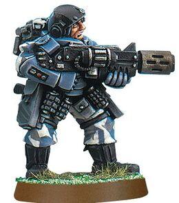 Miniatura guardia imperial armadura caparazon