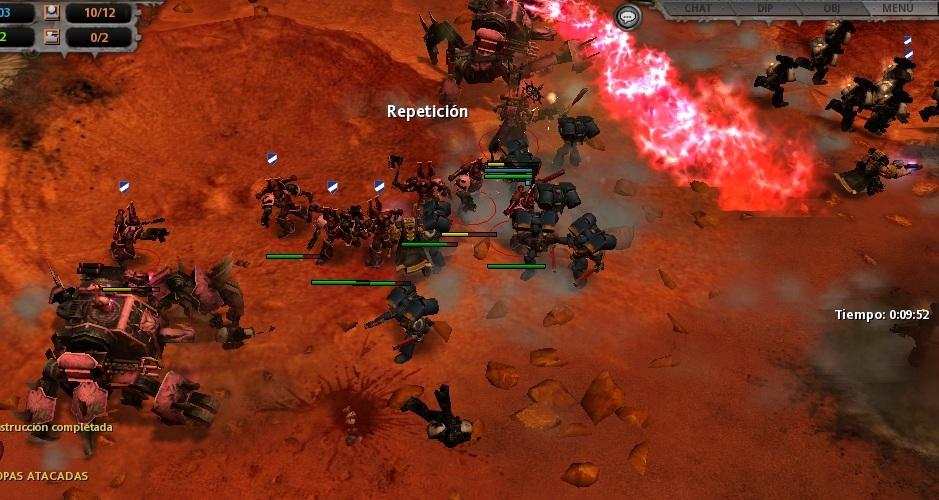 13 Un segundo Profanador gira la batalla hacia el Caos